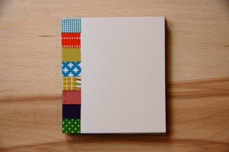 cover, book cover, craft, masking tape