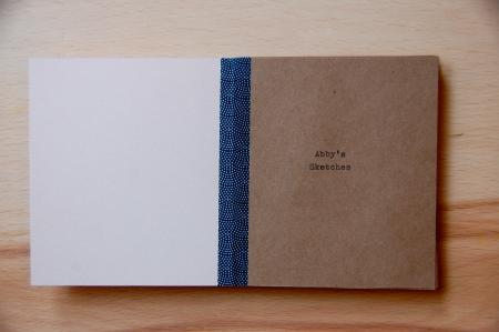 book cover, masking tape, craft, DIY
